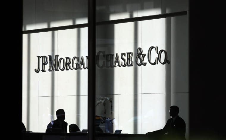 Image: The JP Morgan Chase and Co. headquarters in New York in 2012.