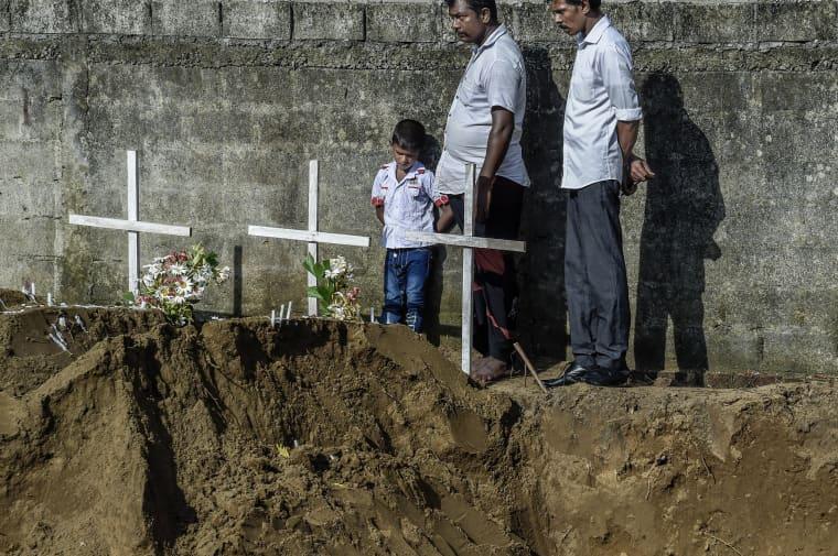 Image: Multiple Explosions Hit Sri Lanka On Easter Sunday
