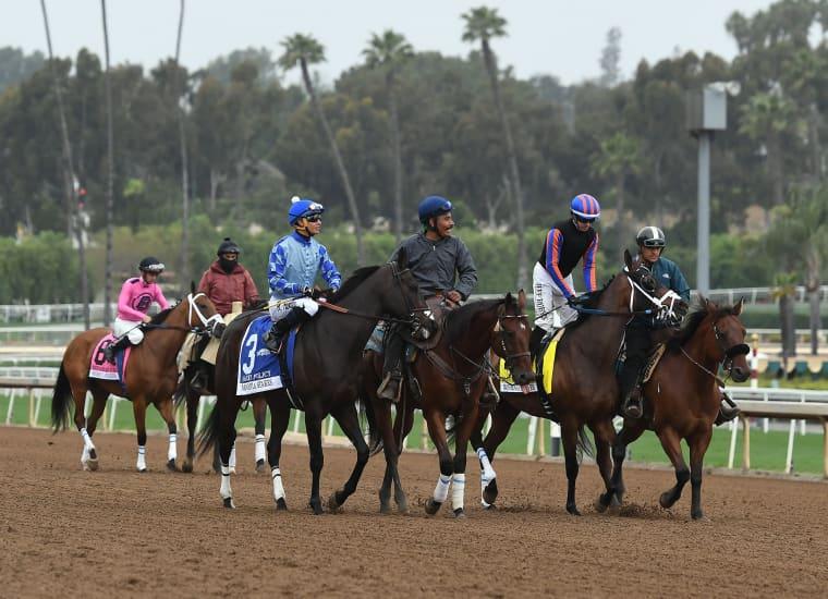 Image: Santa Anita Racetrack