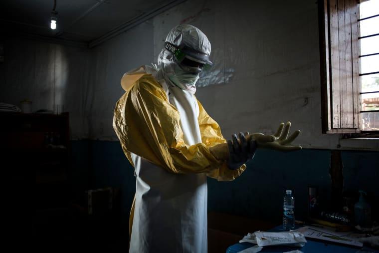 Image: FILES-DRCONGO-EPIDEMIC-HEALTH-EBOLA