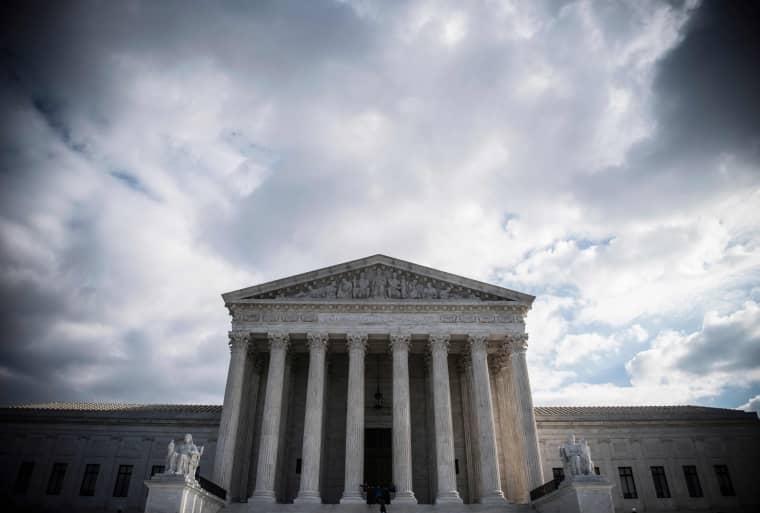 Image: The Supreme Court in Washington on Dec. 24, 2018.