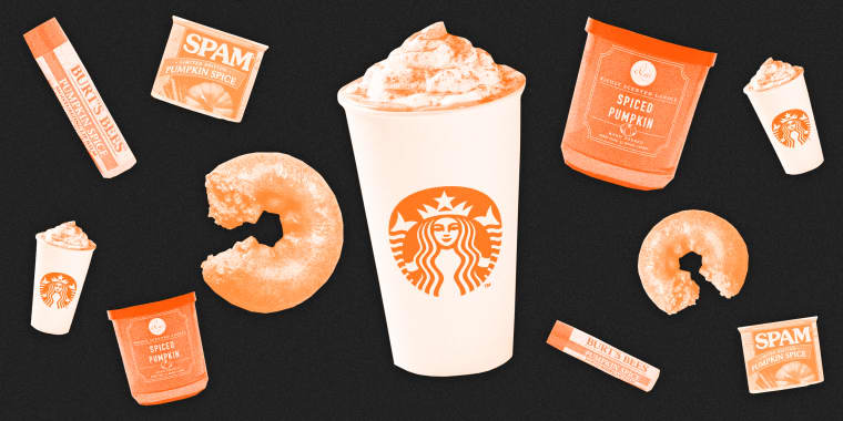 Image: Pumpkin spice lattes are here early, there's pumpkin spice Spam, there's pumpkin spice everything and everything is terrible.