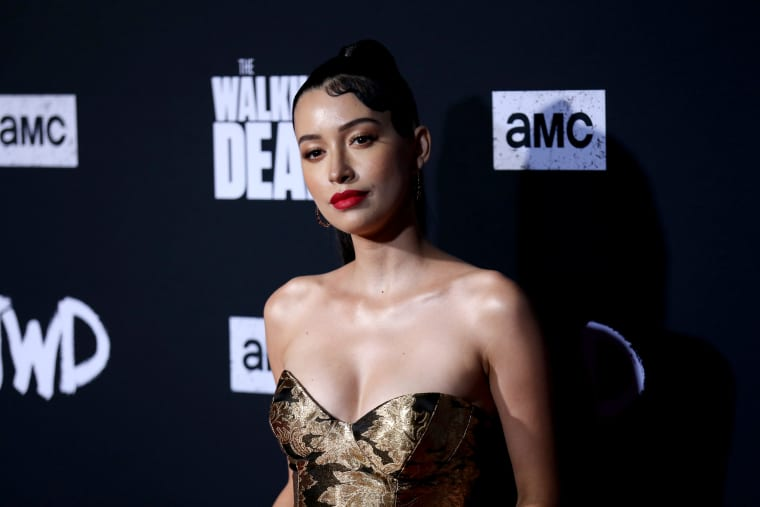 Image: Christian Serratos attends a screening in Hollywood on Sept. 23, 2019.