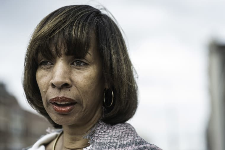 Image: Baltimore mayor, Catherine Pugh.