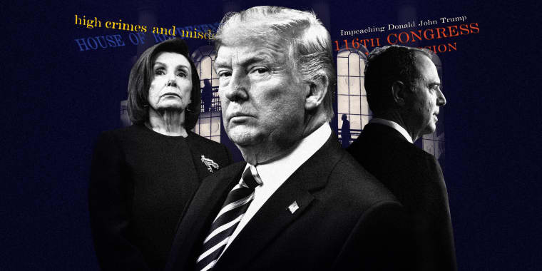 Image: The House of Representatives will vote on two articles of impeachment against President Donald Trump on Wednesday.