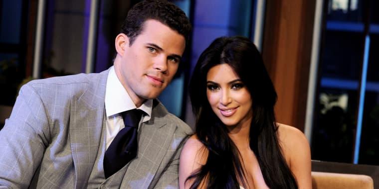 "Image: Kim Kardashian, Kris Humphries, Kenny Wormald And Leann Rimes On ""The Tonight Show With Jay Leno"""