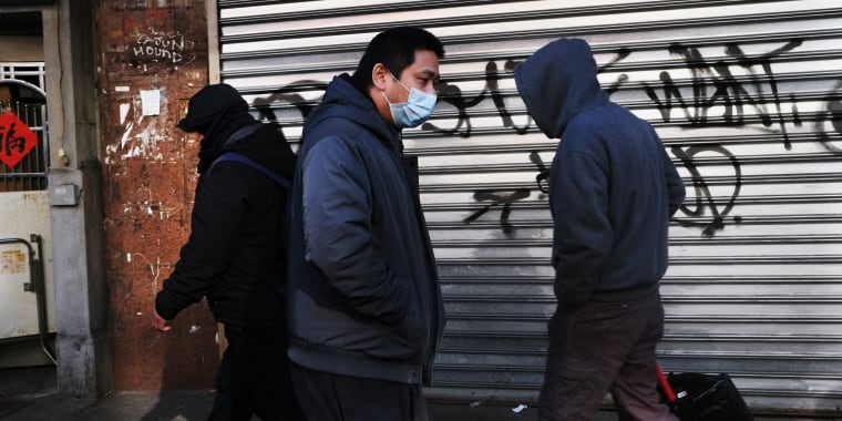 Image: As Worries Over Spread Of Coronavirus Spreads, Businesses In New York's Chinatown Are Selling Out Of Disposable Face Masks