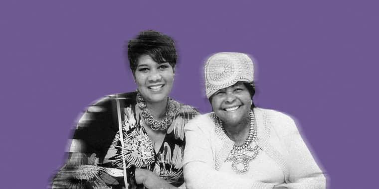 Image: Glenda Johnson and her 83-year-old mother, Linda Hopkins, both fell ill with the coronavirus.