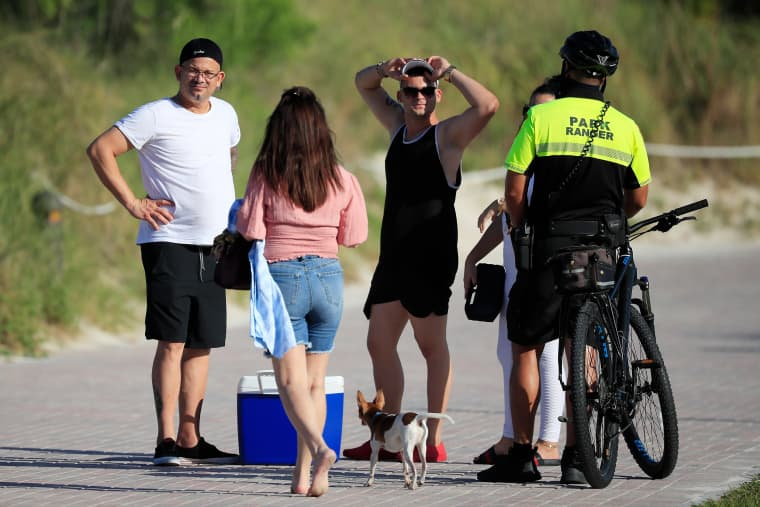 Image: South Florida Counties Ease Restrictions On Parks, Marinas And Golf Courses