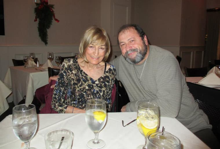 Anthony Catapano with his late wife, Nancy. He died on April 12 after contracting coronavirus.