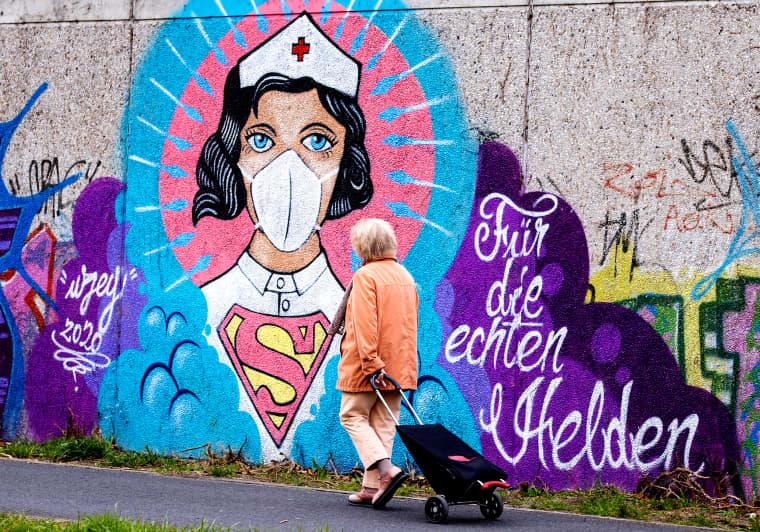 Image: Coronavirus Inspires World Street Art