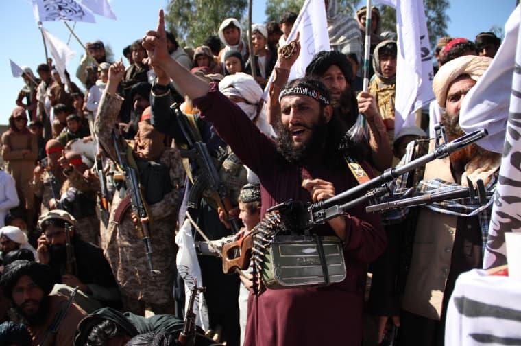 Image: Afghanistan US Deal