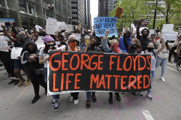 Image: George Floyd protest Chicago
