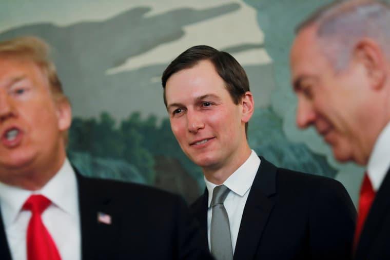 Image: Kushner, Trump and Netanyahu