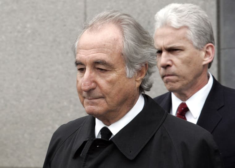 Bernie Madoff exits federal court in New York City