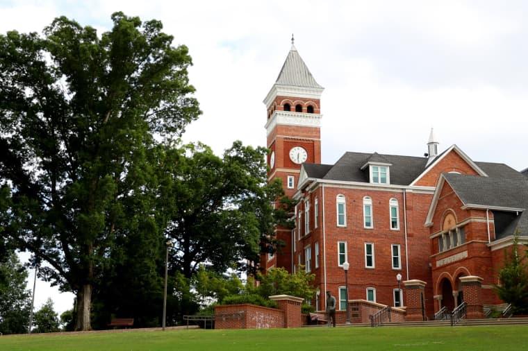 Image: Tillman Hall on Clemson University's campus in South Carolina