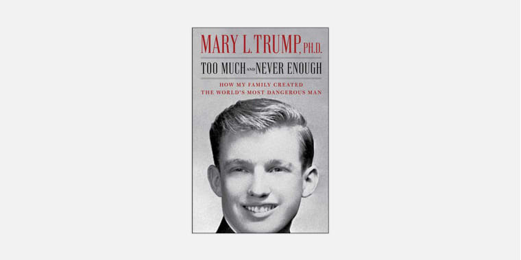 ""\""""Too Much and Never Enough,"""" by Mary L. Trump.""760|380|?|en|2|3fe716fa1f86c1a798c543cddbad4ddc|False|UNLIKELY|0.3063441812992096