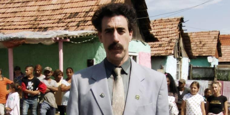 Sacha Baron Cohen as Borat, 2020 in Borat Subsequent Moviefilm.