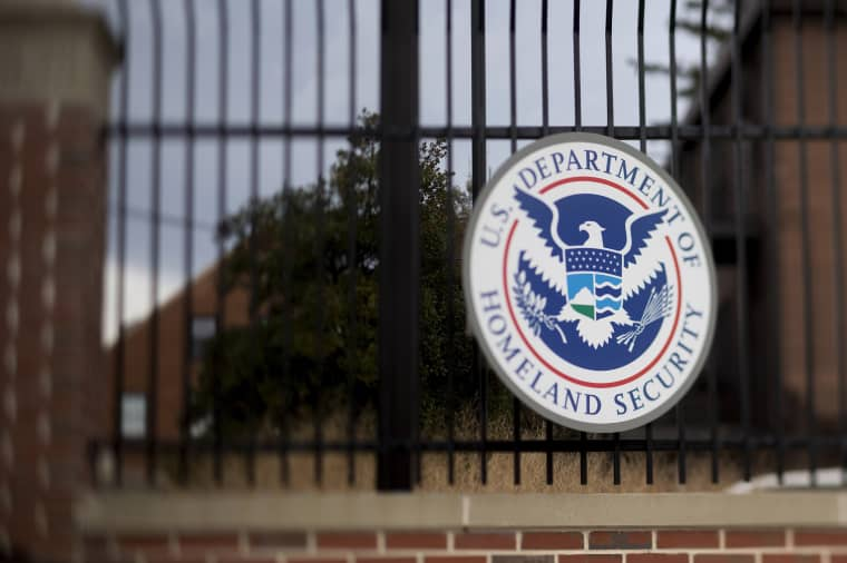Image: Dept. Of Homeland Security HQ As Congress' Spending Plan Funds Agency Only Through February