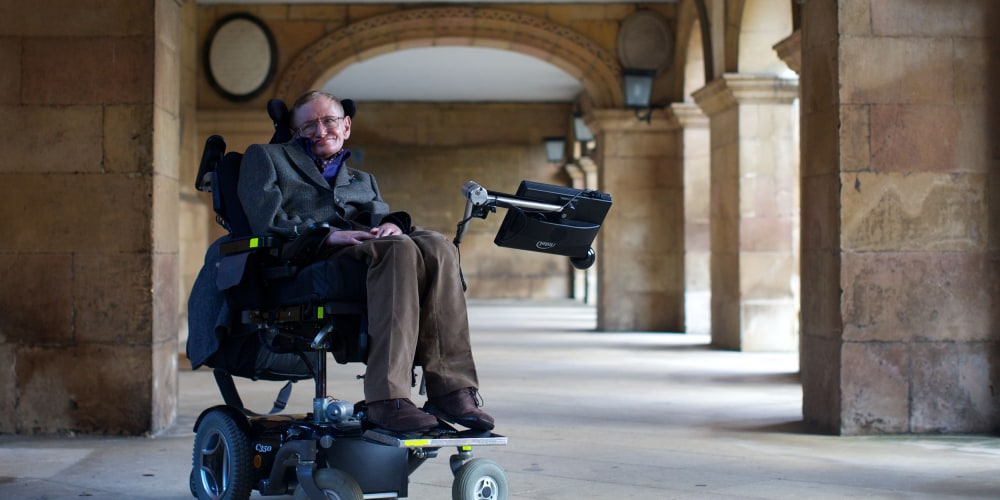 Stephen Hawking had ALS for 55 years. How did he do it? (nbcnews.com)