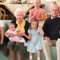 Buckingham Palace shares sweet photo of Prince Philip with great-grandchildren