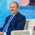 Former President George W. Bush talks about his friendship with Michelle Obama