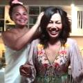 Watch Chrissy Teigen crash her mom's cooking segment on TODAY