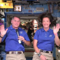 2 astronauts thank teachers from International Space Station