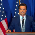 Republican Reps. Matt Gaetz, Marjorie Taylor Greene launch 'America First' tour