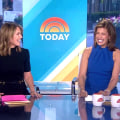 Savannah Guthrie and Hoda Kotb return to sitting side by side on TODAY