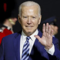 President Biden arrives in Britain on his first foreign trip