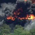 Massive chemical plant explosion in Illinois is under investigation