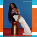 Simone Biles appears on digital cover of Glamour magazine