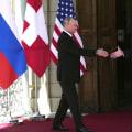 Watch Biden and Putin shake hands at high-stakes summit in Geneva