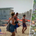 Dangerous heat wave grips Western US as tropical storm Claudette drenches Southeast