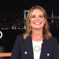 Savannah Guthrie conducts a tour of TODAY's Tokyo set