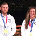 Meet Amber English and Vincent Hancock, US gold medalists in skeet shooting