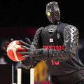 Robot sinks shot after shot during Olympic basketball halftime