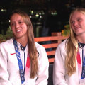 US synchronized divers talk about their silver medal win