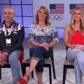 Caeleb Dressel's family join TODAY live from Florida