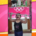 Watch these kids imitate their favorite Olympic athletes