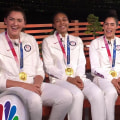 Team USA 3x3 women's basketball champs talk about their gold medal win