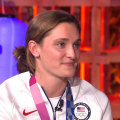Swimmer Annie Lazor tells TODAY the touching story behind her bronze medal win