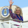 Jill Biden treated after injuring her foot while walking on beach