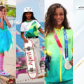 Skateboarder who went viral in fairy wings wins silver in Olympic event
