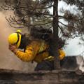 Firefighters make progress battling blazes in Oregon and California