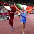 High-jump competitors agree to share Olympic gold medal