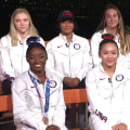 Simone Biles and Team USA gymnasts visit TODAY in Tokyo