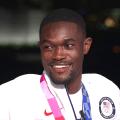 Team USA's Rai Benjamin talks about winning silver in men's 400m hurdles