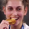Tokyo medals are 'not edible' (but athletes keep biting them anyway)